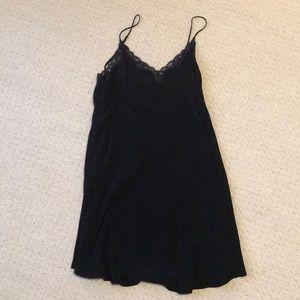 Aritzia Wilfred Black Dress